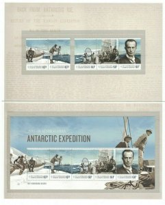MAAT44) Australian Antarctic Territory 2014 Expedition Part IV Stamp Pack