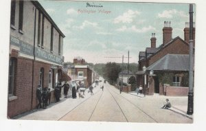 VICTORIA, SWANPOOL cds., 1908 British ppc. Hollington Village, 1d. to Lima East.