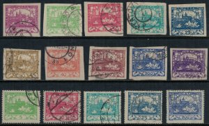 Czechoslovakia 1-10,3-6,20  CV $3.75  First issue