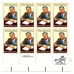 1975 Mint,OG,NH... Zip/Inscription Block of 8... SCV $3.00