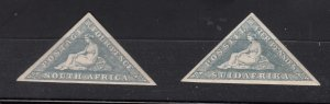 J28440, 1926 south africa mnh set #21-2 hope