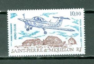 ST.PIERRE & MIQUELON  AIR  #C67...MNH...$4.00