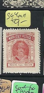 INDIA NATIVE STATE MORVI   (P0409B)   SG 4    MOG