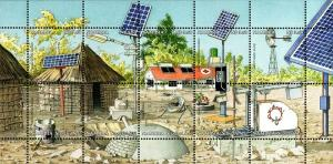 Namibia - 2001 Renewable Energy Sources MS MNH**
