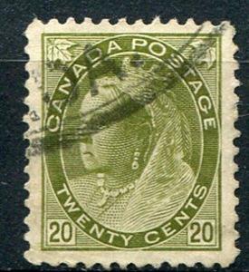 Canada #84 Used VF    - Lakeshore P...