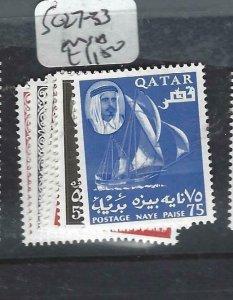 QATAR    (P2306BB)  SHEIKH   SG 27-33   MNH