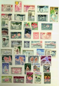 New Caledonia Collection MNH CV$13310.00 Imperforate 1950-1997 In Two Stockbooks