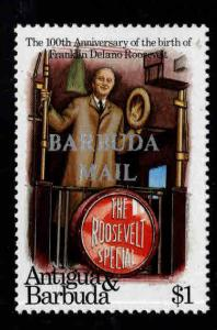 BARBUDA Scott 555 MNH** Churchill stamp