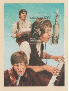 Tanzania Scott #1337 Stamps - Mint NH Souvenir Sheet