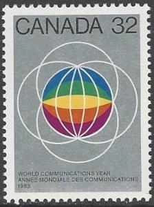 Canada 976  MNH ITU World Communications Year 1983