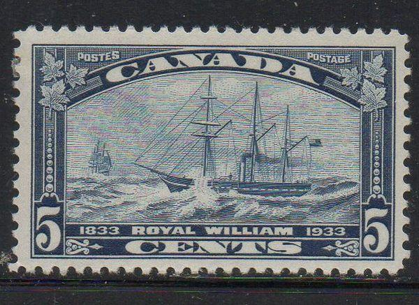 Canada Sc 204 1933 Steamship Royal William stamp mint