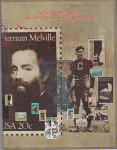 USA -1984 SOUVENIR MINT SET-MINI ALBUM. LOT#US278