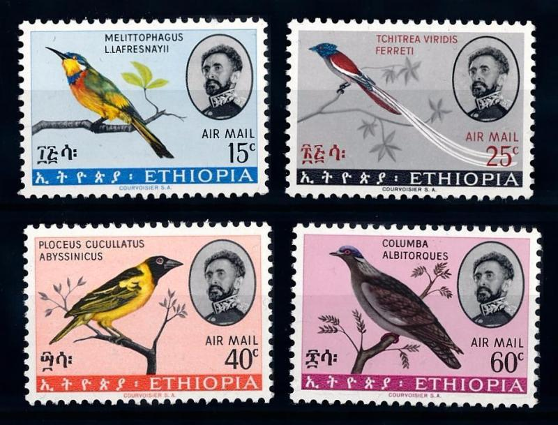 [64365] Ethiopia 1960 Birds  From Set MLH