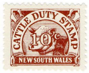 (I.B) Australia - NSW Revenue : Cattle Duty 10c