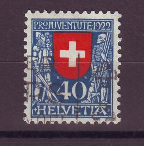 J14276 JLstamps 1922 swiss used hv of set semi #b24 $47.50 scv