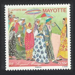 Mayotte Le Grand Mariage 1v SG#241
