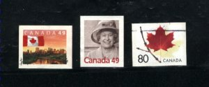 Canada #2011-13   -4  used VF 2003 PD