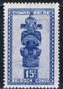 Belgian Congo 232 MNH Carving 1947 (B0397)+