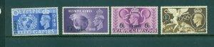 Oman - Sc# 27-30. 1948 Olympics. Mint. $6.40.