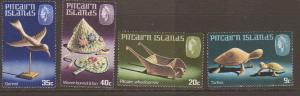 Pitcairn Is #119-22 MNH