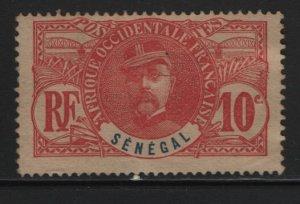 SENEGAL, 61, NO GUM, 1906, GENERAL LOUIS FAIDHERBE
