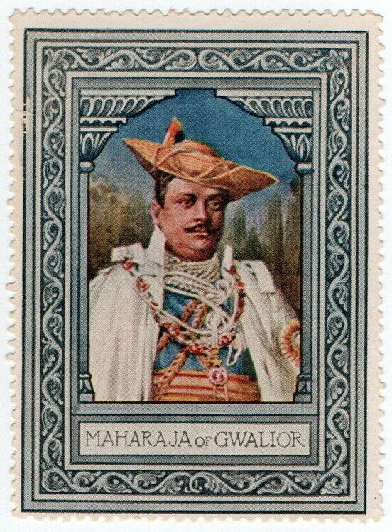 (I.B) Cinderella Collection : Lord Roberts Memorial (Maharaja of Gwalior)