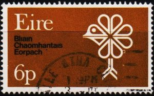 Ireland. 1970 6d S.G.274  Fine Used