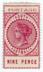 (I.B) Australia Postal : South Australia 9d (SG 273)