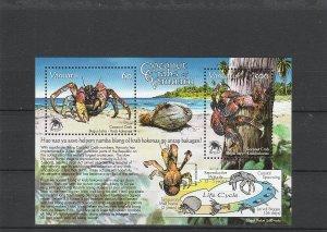 Vanuatu  Scott#  943a  MNH  S/S  (2008 Coconut Crabs)