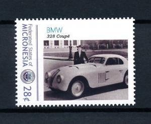[92952] Micronesia  Classic Cars BMW 328 Coupé  MNH
