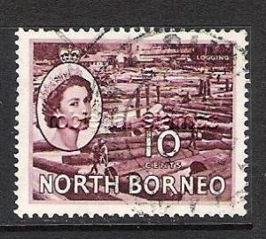 NORTH BORNEO 267 VFU Z6238