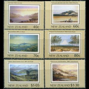 NEW ZEALAND 1988 - Scott# 912-7 Paintings Set of 6 LH