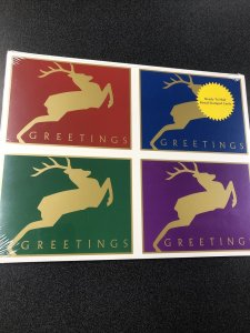 USPS UX357-60 Deer Greeting Postal Card 20 Stamped Cards Sealed