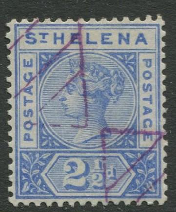 St.Helena - Scott 44 - QV Definitive -1896 - VFU - Single 2.1/2p Stamp