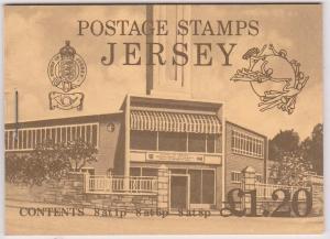 Jersey - 1979 £1.20 UPU Booklet SG SB29