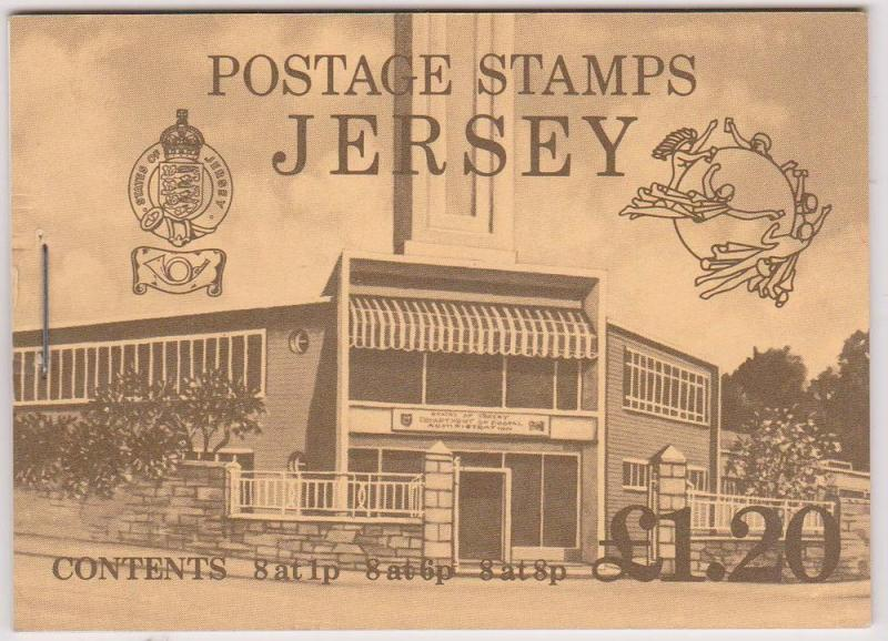 Jersey - 1979 £1.20 UPU Booklet SG SB29
