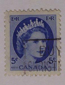 Canada Scott #341 used