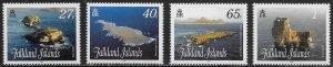 Falkland Islands Scott # 986 - 989 MNH