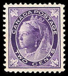 CANADA-f-a-1851-1899 ISSUES (TO 88c) 68  Mint (ID # 73453)