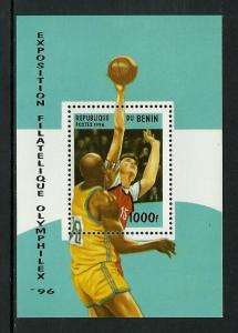 Benin #863 MNH S/Sheet - Basketball