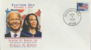 Graebner Chapter AFDCS Joe Biden Kamala Harris 11-3-20 Election Day Washington