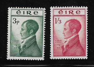 Ireland - 1953 Robert Emmet Set mint #149-150