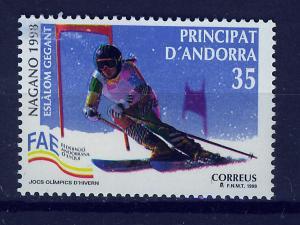 ANDORRA SPANISH 1998 MNH SC.247 Olympic Games Nagano