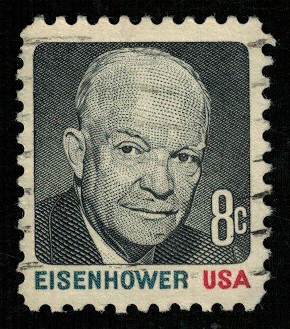 USA, Eisenhower, 8 cents, (2920-Т)