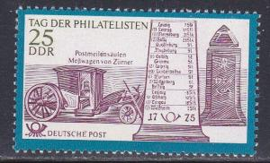 German Dem Rep # 1329, Postal Milestone, NH