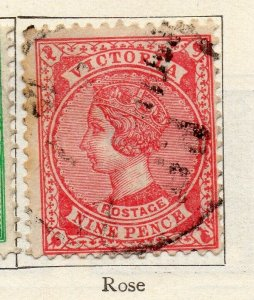 Victoria 1901 Early Issue Fine Used 9d. NW-11566