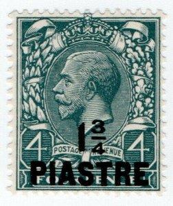 (I.B) Lebanon Postal : British Levant 1¾pi on 4d OP (SG 37)