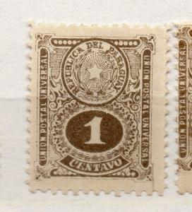 Paraguay 1910 Early Issue Fine Mint Hinged 1c. 282463