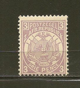 Transvaal 128 Type A4 Mint Hinged
