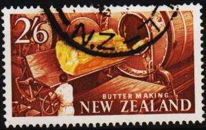 New Zealand. 1960 2s6d S.G.797 Fine Used